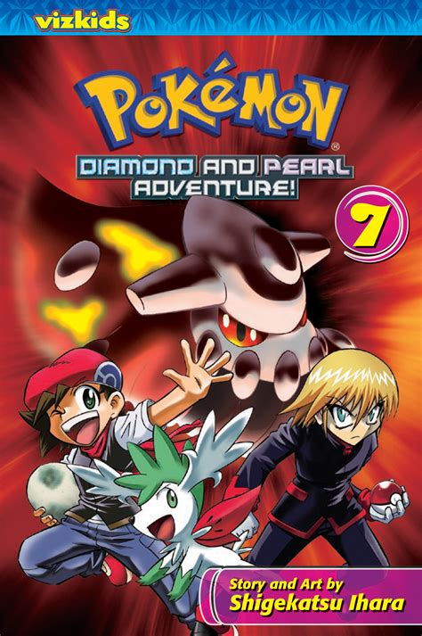 pokemon diamond  pearl adventure volume  pokemon