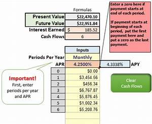 present and future value proofs excelcfo With future value excel template