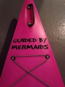 Guided By Mermaids Vinyl Kayak Decal