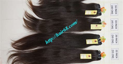 20 Inch Natural Weave Hair Extensions High Quality Cheap Price