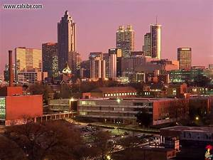 Atlanta Skyline Wallpaper HD  WallpaperSafari