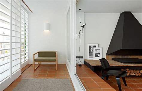 Beautiful Minimalist Interiors by Minimalism Interior Design With A Beautiful Fireplace