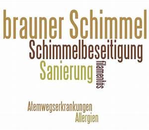 Schimmel An Der Wand : brauner schimmel so gef hrlich wie schwarzer schimmel ~ Frokenaadalensverden.com Haus und Dekorationen