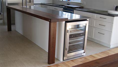 cuisine bois noir comptoirs en bois signature stéphane dion