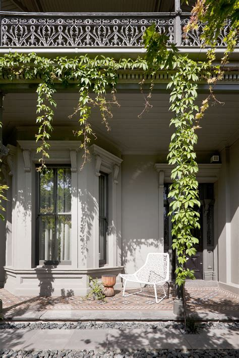 victorian terrace house  melbourne  style files