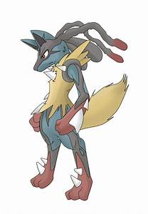 Mega Lucario by riolu-uzumaki on DeviantArt