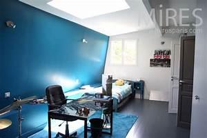 Chambre bleue d ado C1036 Mires Paris