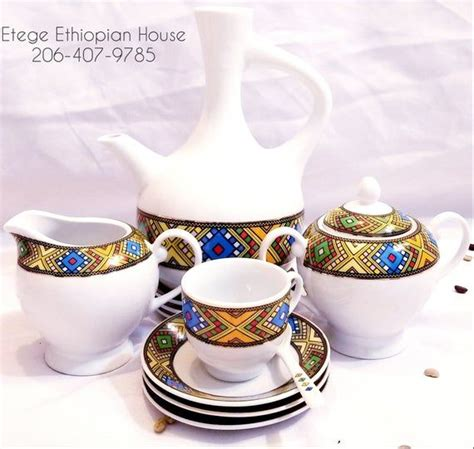 Book your small or large group events with ethiopian coffee ceremony company. Ethiopian/Eritrean Coffee Set, Bright Tebeb Edition. Full set, 22 Pcs. Comes with Jebena,6 cups ...