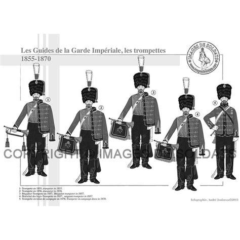 le bureau la garde les guides de la garde impériale 1854 1870