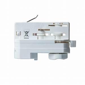 Kochfeld Anschließen 2 Phasen : cle 3 phasen stromschienenadapter adapter wei mit 5m kabel und endh lsen cardanlight europe ~ Eleganceandgraceweddings.com Haus und Dekorationen