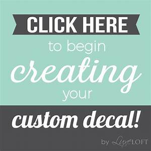 customize wall decal custom wall decals create your own With create personalized stickers
