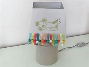 Abat Jour Chambre Bébé : lampe et abat jour chambre d 39 enfants deco2sev ~ Teatrodelosmanantiales.com Idées de Décoration