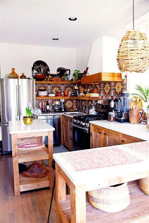 26+ Exquisite Boho Chic Kitchen Bar