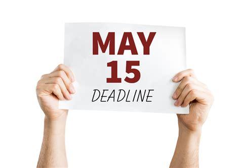 May 15 Pbj Deadline Is Fast Approaching