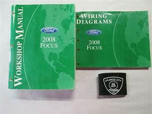 2008 Ford Focus Service Shop Repair Manual  U0026 Wiring