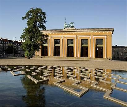 Museum Thorvaldsens Copenhagen Bertel Plads Denmark Dk