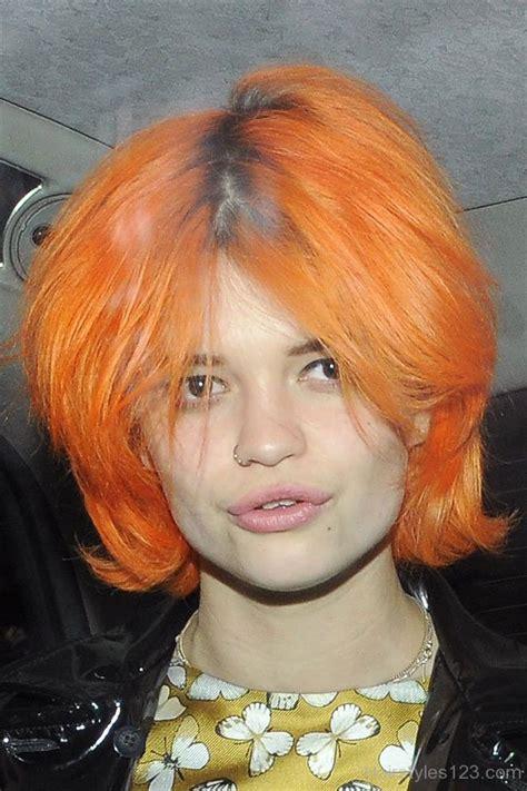 orange hairstyles