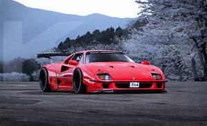 Ferrari Liberty Walk : liberty walk lb performance ferrari f40 1900x1156 cgcarporn ~ Medecine-chirurgie-esthetiques.com Avis de Voitures