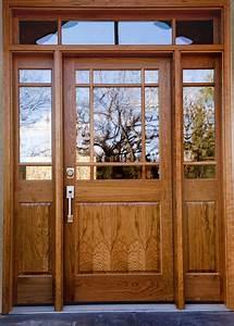 Cherry, Wood, Entry, Door