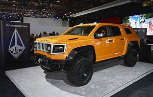 VLF turns Chevy Colorado into Hummer H2-esque off-roader