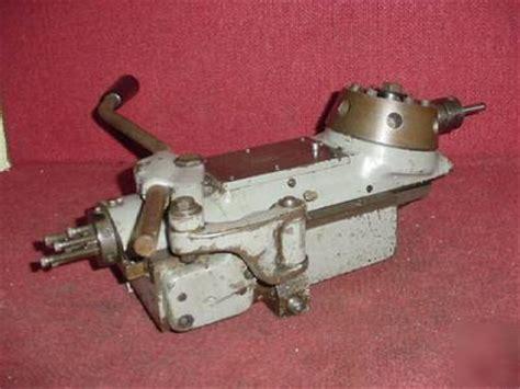 hardinge model   position turret  dv  lathe