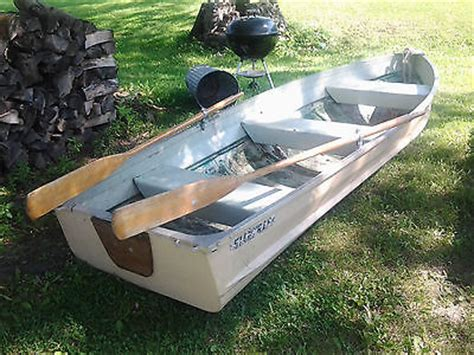 Aluminum Row Boat Oars by Row Boat 12 Boats For Sale