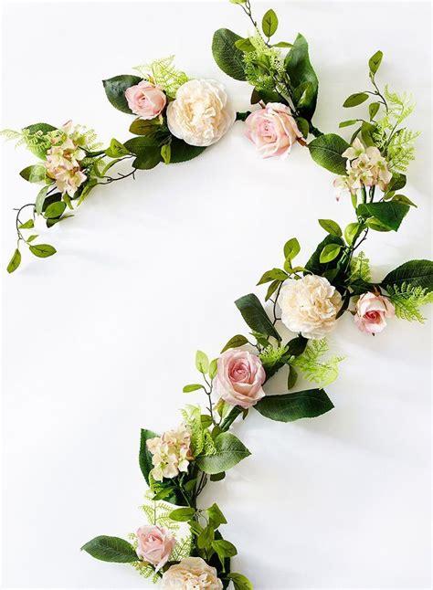 flower garland wedding ideas  pinterest