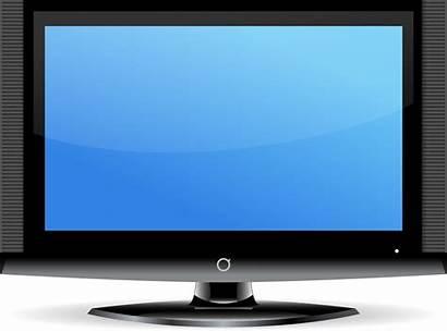 Transparent Tv Television Clipart Screen Clip Flat