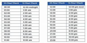 24 Hour Clock Chart 24 Hr Time Chart Elapsed Time Worksheets 24 Hour 2nd