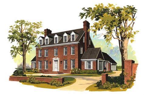 georgian colonial house plans home design hw