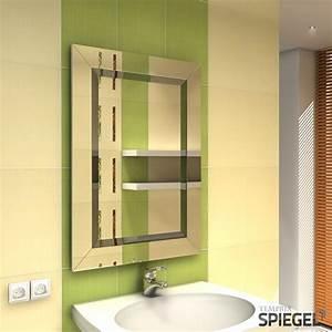 Spiegel Aufhängen Richtige Höhe : spiegel wandspiegel mit rahmen modern silber 90 x 65 cm facettenschliff modena ebay ~ Bigdaddyawards.com Haus und Dekorationen