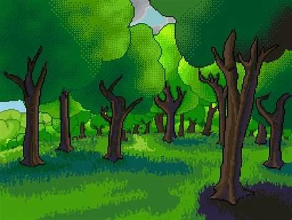 Cartoon Hout Tree Mainmenu 2d October Mango
