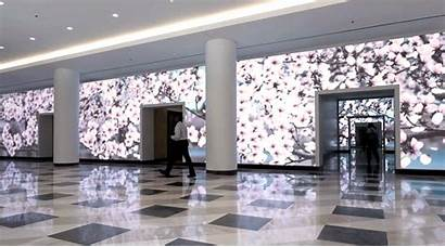 Led Mural Place Terrell Motion Displays Installation