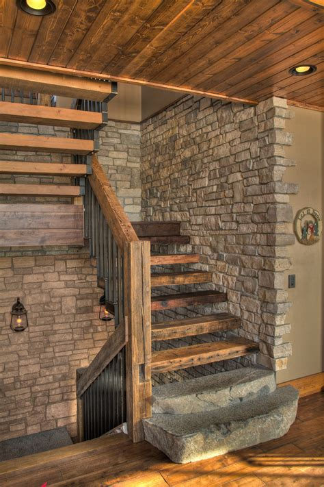 graceful rustic staircase designs youre   love