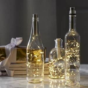 Flasche Mit Lichterkette : led korken led lichterkette dewdrops ~ Frokenaadalensverden.com Haus und Dekorationen