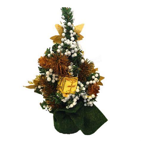 mini desk christmas tree mini christmas xmas tree desk table decoration ornament at