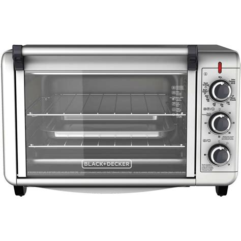 Countertop Toaster Oven - 6 slice convection countertop toaster oven silver to3000g