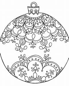 Drawn christmas ornaments color cut out - Pencil and in ...