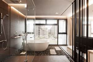 bathroom design modern inspirational examples splash With kitchen cabinet trends 2018 combined with 3 piece airplane wall art