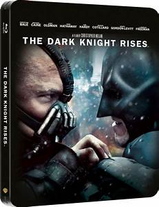 The Dark Knight Rises - Limited Edition Steelbook Blu-ray