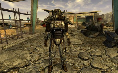 Courier 6 Power Armor At Fallout New Vegas