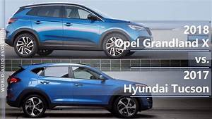 Opel Grand Land X : 2018 opel grandland x vs 2017 hyundai tucson technical comparison youtube ~ Medecine-chirurgie-esthetiques.com Avis de Voitures