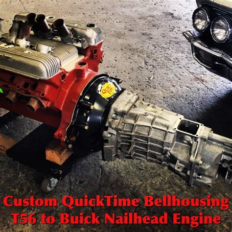 Bell Buick Parts by Custom Quicktime Bellhousing T56 To 401 425 Buick