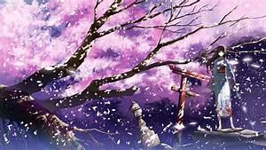 Fond d'écran : Anime, Filles anime, hiver, branche ...