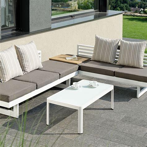 canapé de jardin castorama salon de jardin aluminium royal sofa idée de canapé et