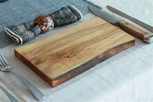 Sous Assiette Bois : ensemble de 2 assiettes de service en bois rable sous plat co responsable planche ~ Teatrodelosmanantiales.com Idées de Décoration