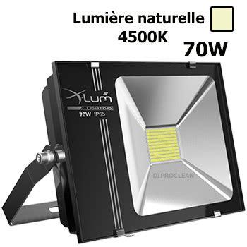 projecteur led 70w ext 233 rieur etanche eclairage naturel industriel 4500k parking fa 231 ade