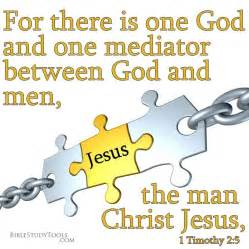 Mediator Between God and Man