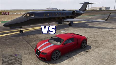 How Fast Does The Bugatti Veyron Sport Go by Adder Bugatti Veyron Vs Jet Which Is Faster Gta V 5