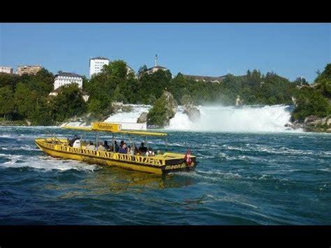 Boat Ride Rhine Falls Switzerland rhine falls boat ride switzerland travel